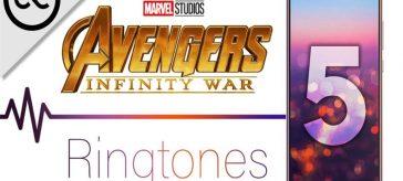 Avengers Infinity War Mobile Ringtones